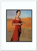Angelina Jolie Autograph Photo